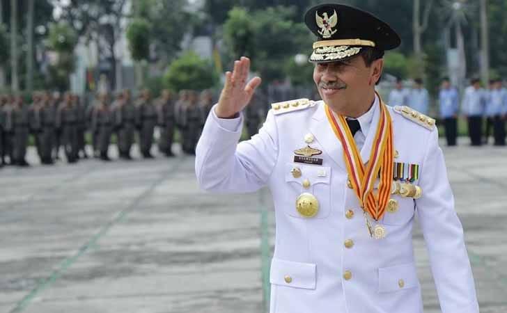 Gubernur Riau Drs H Gubri Syamsuar, M.Si